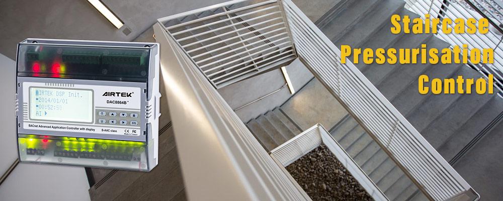 Airtek Car Park Ventilation System Bacnet Modbus